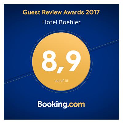 Hotel Böhler: Guest Review Awards 2017