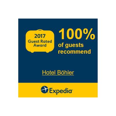 Hotel Böhler: Guest Rated Award 2017