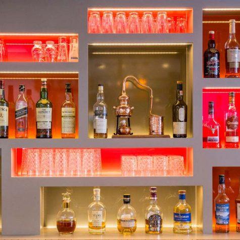 Whiskey im Hotel Böhler