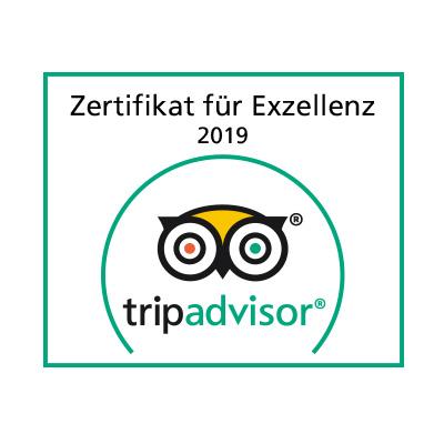 Hotel Böhler: Zertifikat für Exzellenz 2019
